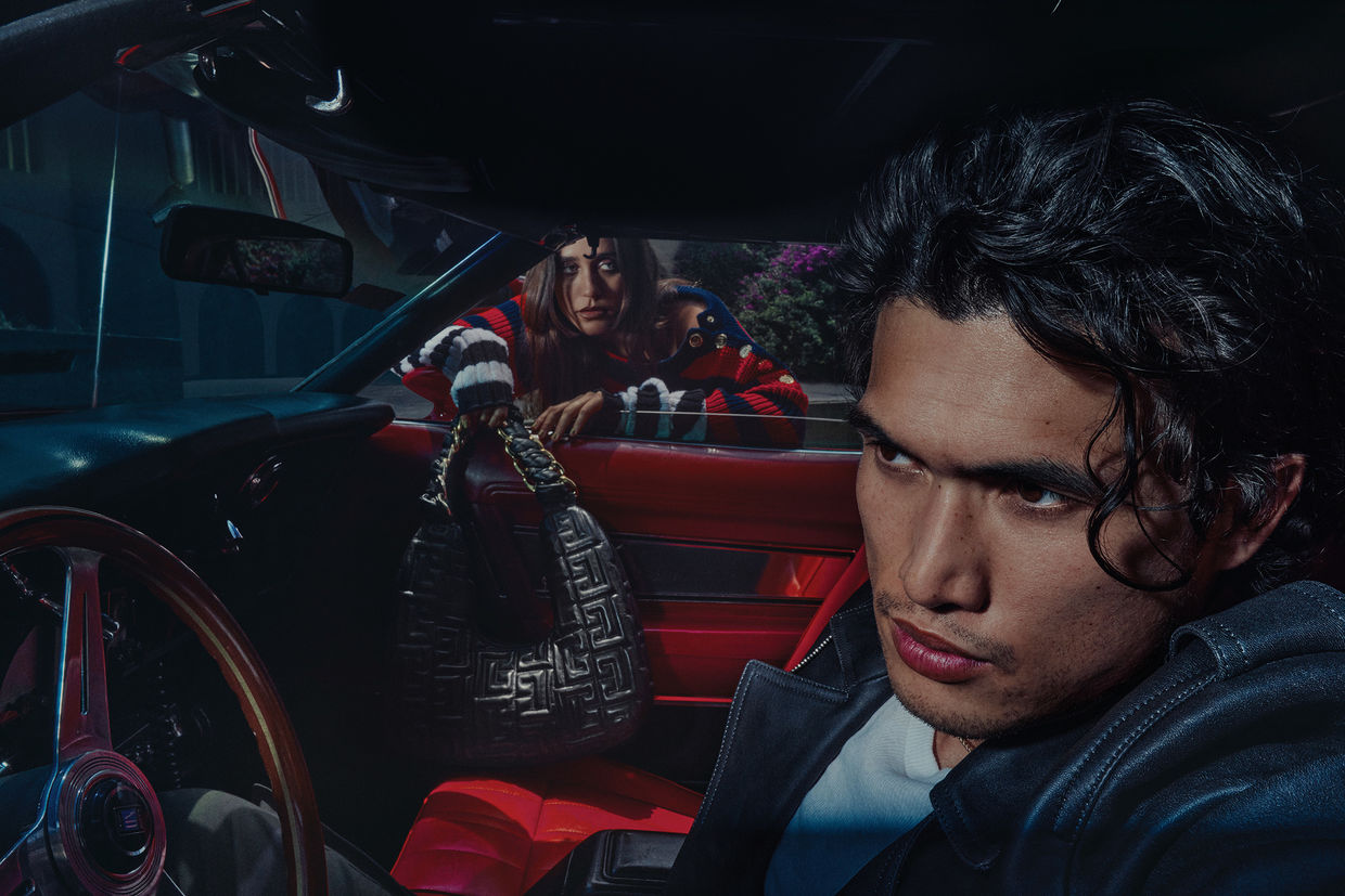 BALMAIN FW21 CAMPAIGN PHOTOGRAPHED BY AN LE