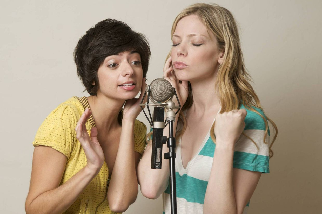 Garfunkel And Oates Nude inside gosee supports 'the loophole'celeb duo garfunkel and oates