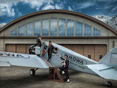 CKGRAPHIC for RIMOWA 'The Return of Junkers F13'