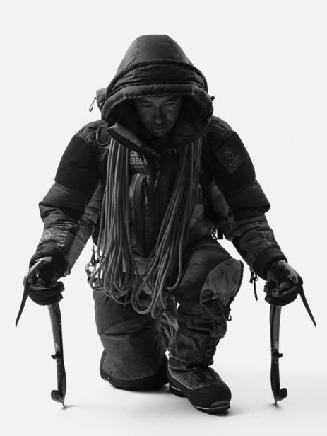 "SEVERIN WENDELER: ""Nirmal Purja - Portrait by Sandro Baebler c/o Severin Wendeler"""