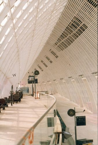Avignon TGV Station by Architects Jean-Marie DUTILLEUL & François BLASSEL