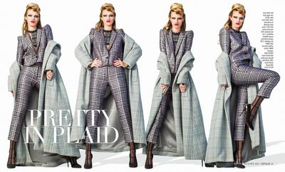 Pretty in Plaid: Deltagram for Genlux Magazine