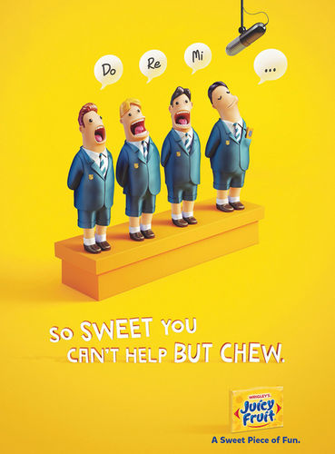 Wrigleys Juicy Fruit campaign by ESTILO3D c/o JSR AGENCY