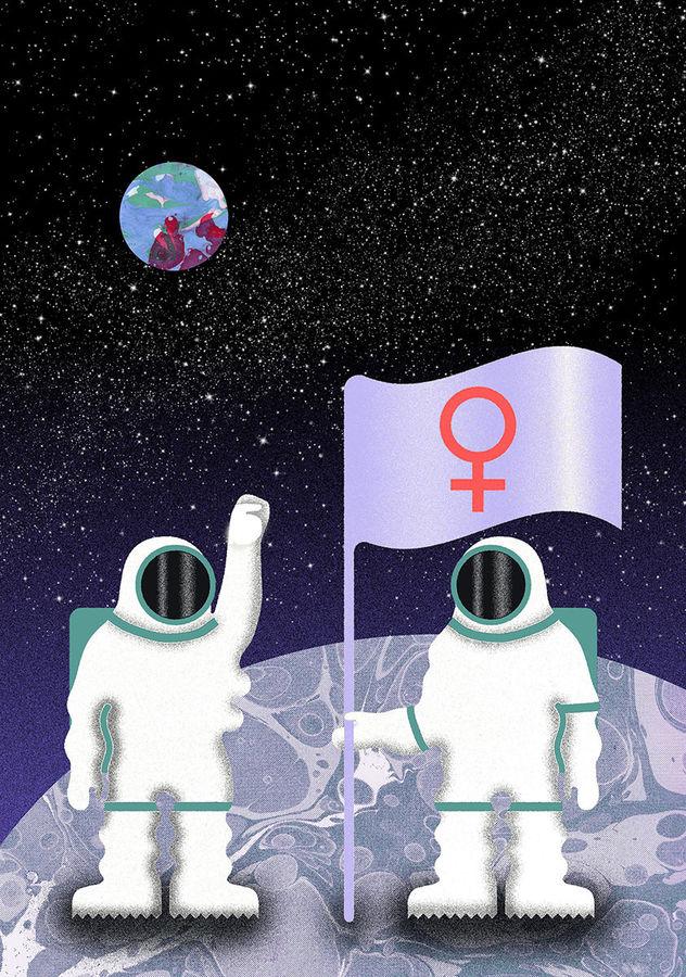 WILDFOX RUNNING: Julia Schwarz with 'First Female Spacewalk'