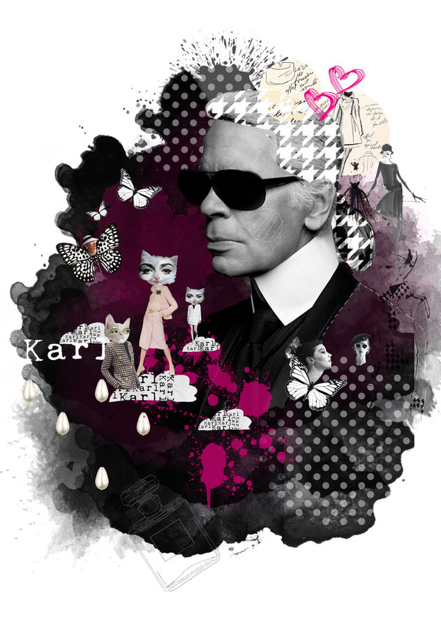 Tribute to Karl Lagerfeld / Till Wellm