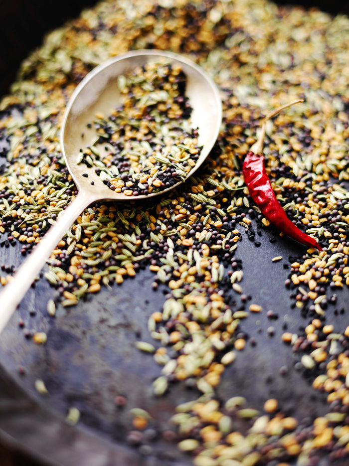Spice Mix With Spoon
