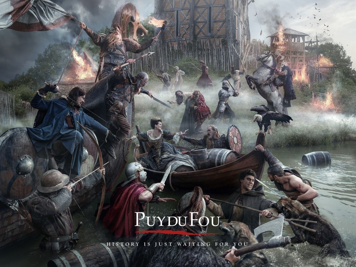 MAKING PICTURES: PUY DU FOU BY FINLAY MACKAY