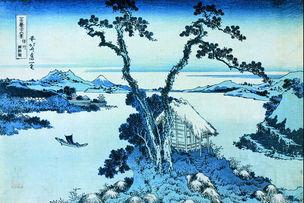 Der Suwa-See in der Provinz Shinano © Sumida City