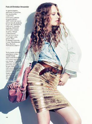 BLOSSOM: Thomas LORENZ for GLAMOUR ITALY