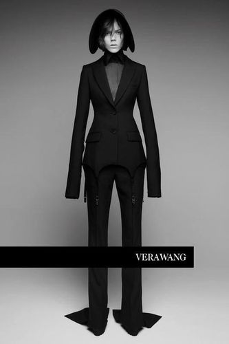 Freja for Vera Wang SS18 shot by Patrick Demarchelier