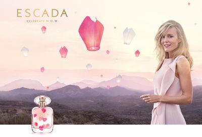 NADINE BRASE for Escada Fragrance N.O.W.