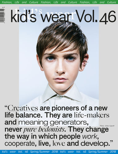 kid's wear magazine vol. 46 cover by Achim Lippoth