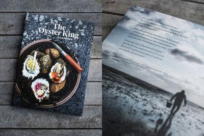 """UPFRONT: Sven Sindt """"The Oyster King"""" cookbook"""