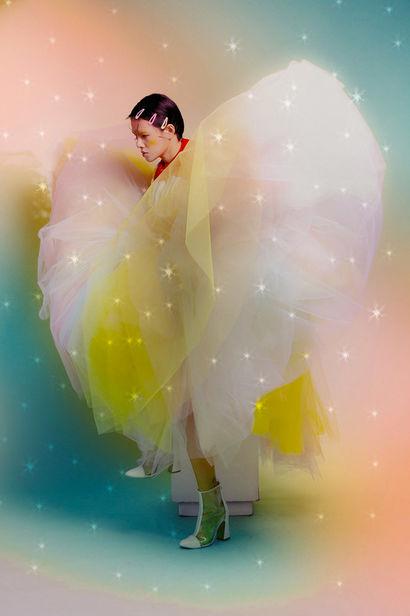 'Flaming Asia' by Chiron Duong / Winner Prix Picto de la Mode 2020