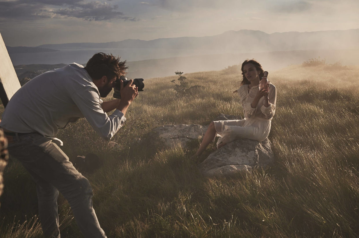 'Bohemian Romance' Betty Barclay Fragrances Campaign by FLORIAN GRILL c/o NERGER M&O - BEHIND THE SCENES