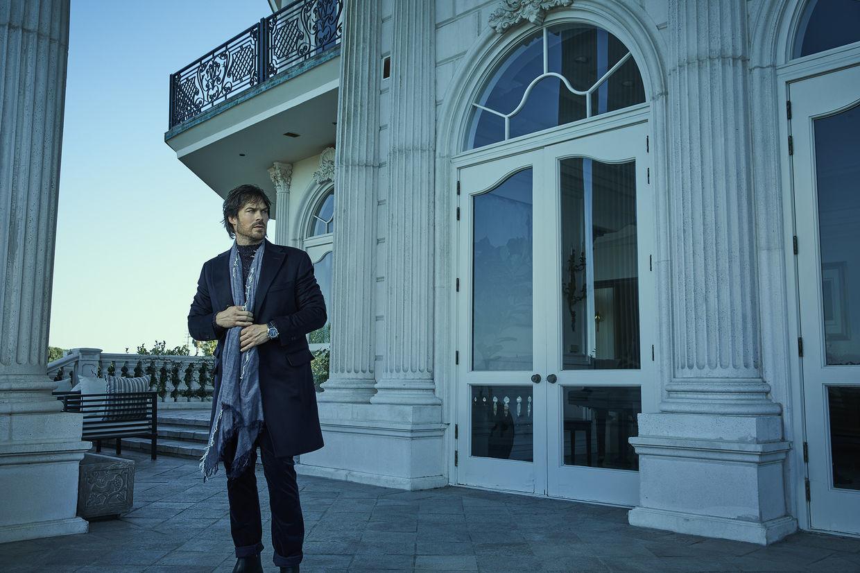 SEVERIN WENDELER: NOBLEMAN Cover shoot of Ian Somerhalder. Portrait by Robert Ascroft c/o Severin Wendeler