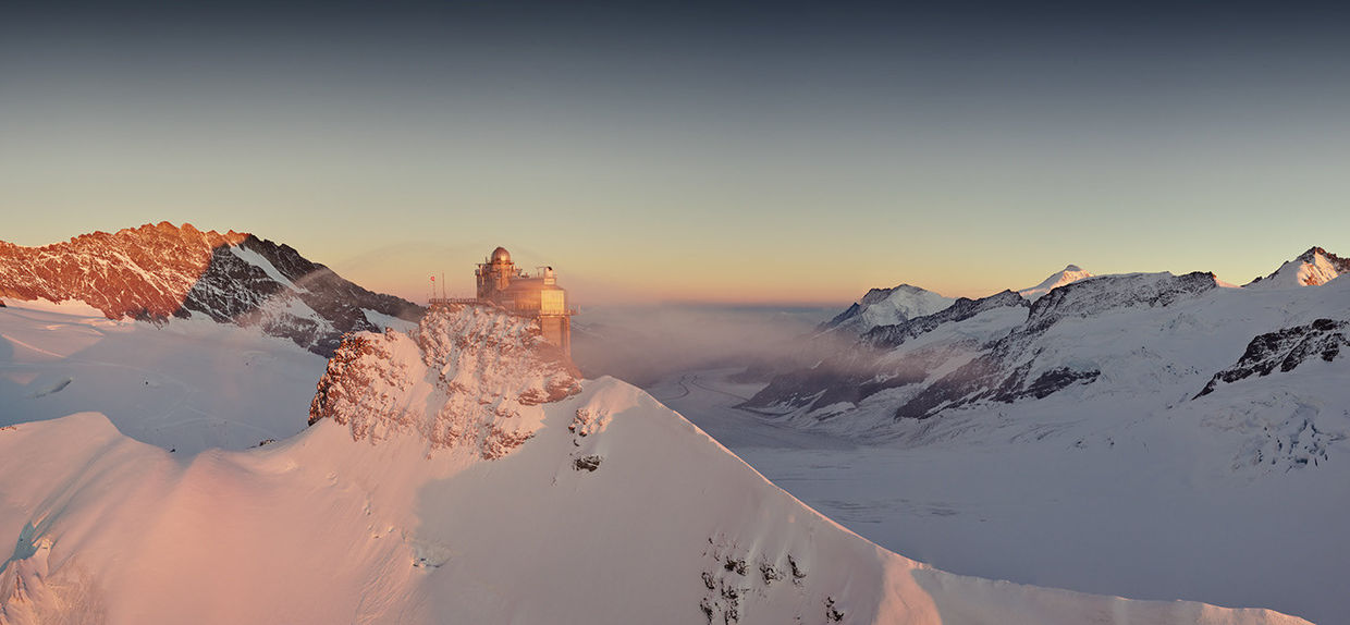 "SEVERIN WENDELER: Jungfraubahn-Winter ""Photography by Sebastien Staub c/o SeverinWendeler"""