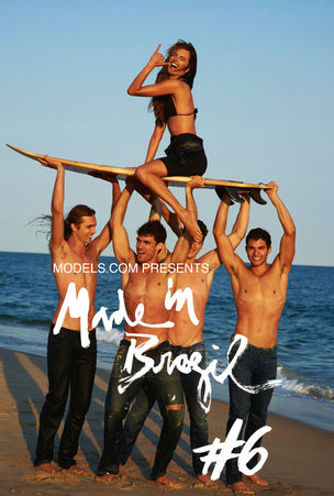 MADE IN BRAZIL MAGAZINE #6 featuring Alessandra, Caio, Diego, Pedro, And Bruce