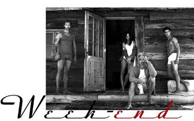 KLEIN PHOTOGRAPHEN : Serge GUERAND for SCHIESSER