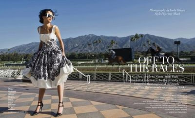 Off to the Races: Deltagram for Genlux Magazine