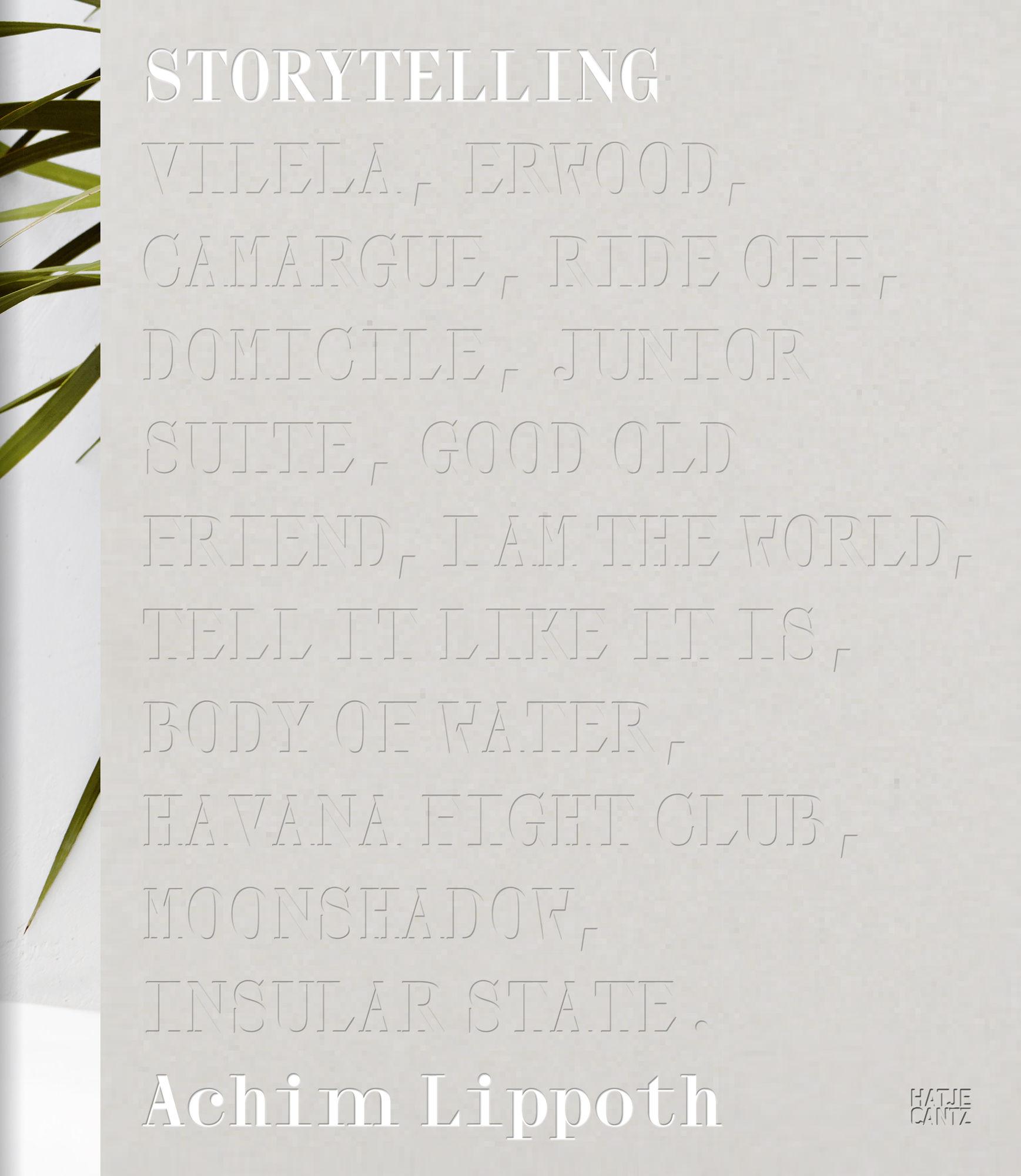Achim Lippoth 'Geschichten über das Kindsein / Storytelling' (HATJE CANTZ)
