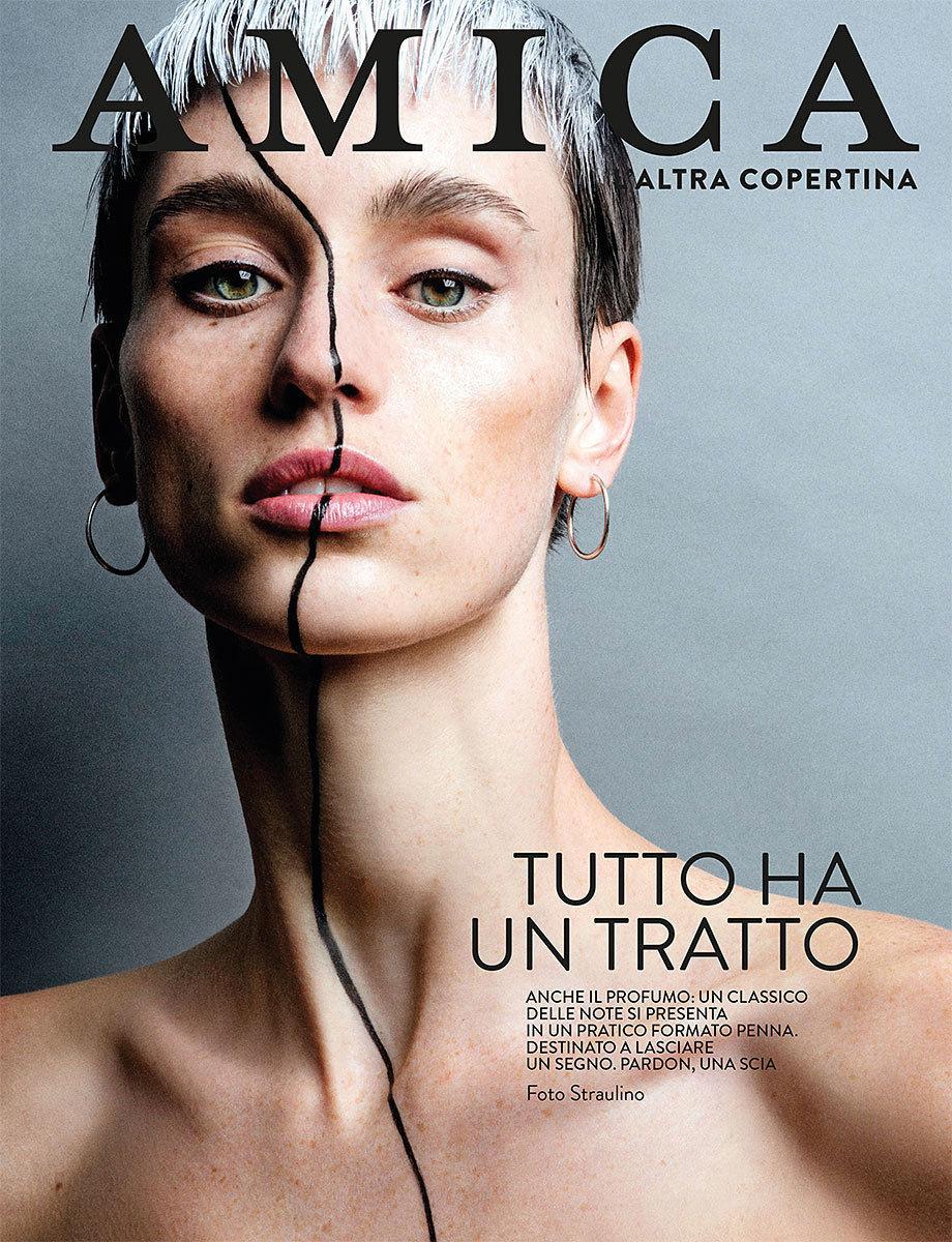 NINA KLEIN, Hair & Make Up: Caroline Torbahn, Photography : Straulino für AMICA