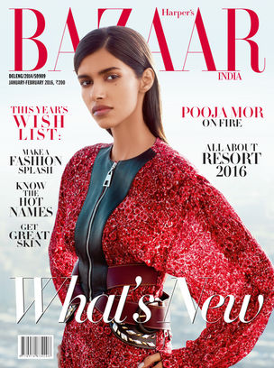 ANIMA CREATIVE: Pooja MOR for HARPERS BAZAAR