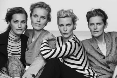 VIVA MODELS: Nadja AUERMANN for 'New Normal' by GIORGIO ARMANI