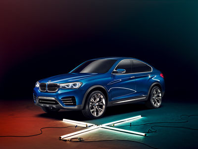 the BMW X4 Concept. Photgraphy by Jan Friese