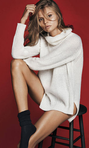 MODEL PLUS: Magdalena Frąckowiak for EXPRESS Holidays 2015 campaign