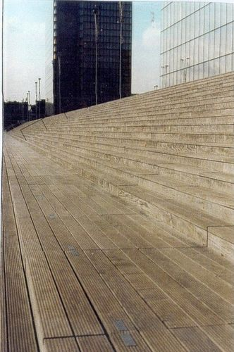 PARIS ,The National Library by Architect Henti LABROUSSE