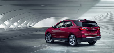 SEVERIN WENDELER: PATRICK CURTET shoots the CHEVROLET EQUINOX