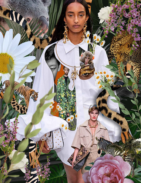 COSMOPOLA GMBH - Augustynka for British Vogue