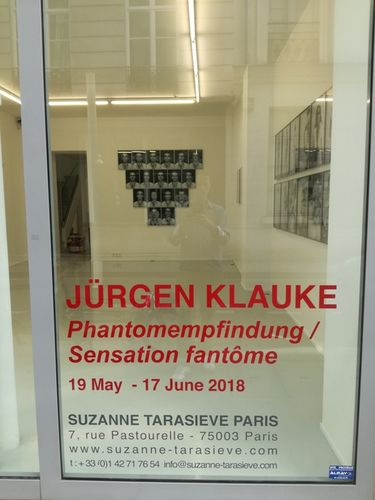 GOSEE ART: Jürgen Klauke at Suzanne Tarasieve Paris