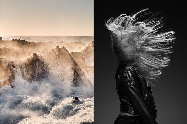 Flying Hair & Waves