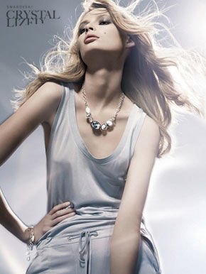 BLOSSOM MANAGEMENT : CLAUDIA Perschmann for SWAROVSKI