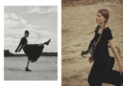 Madeleine Fischer by MARIE SCHMIDT for Grazia Croatia