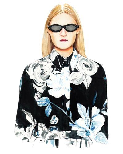 COSMOPOLA Illustration Artist - Francesco Lo Iacono - AW18 Off White