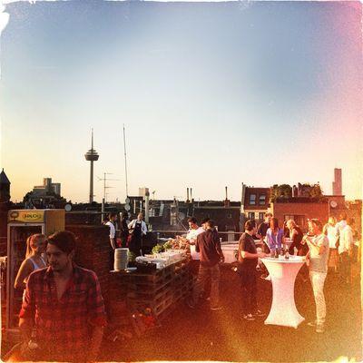Sundowner bei PALLADIUM Film Commercial Productons in Köln