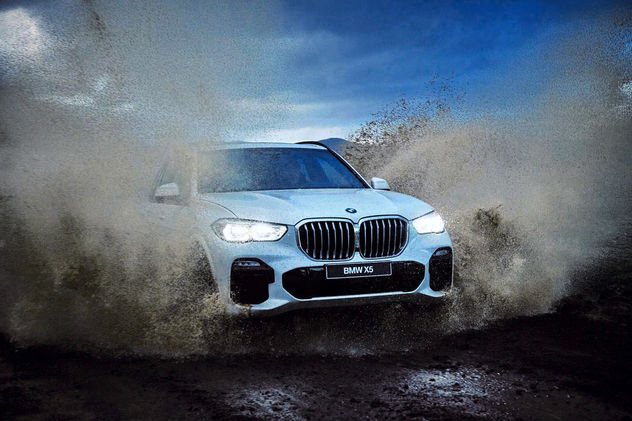 KELLY KELLERHOFF REPRESENTS! THOMAS SCHWOERER behind the scenes - BMW X5 Shooting in Island