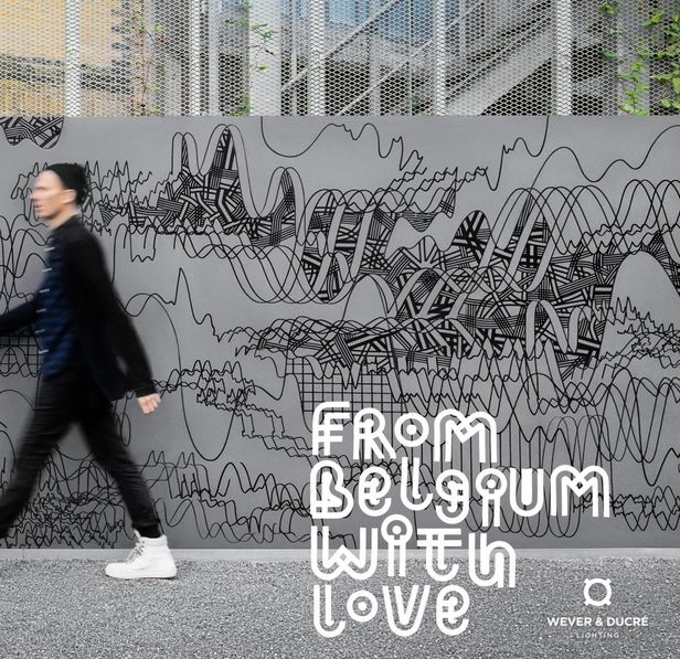 'From Belgium with Love' STEEFEN SEEGER c/o 2AGENTEN for WEVER & DUCRÉ LIGHTING - PERFORMANCE ON EUROLUCE IN MILAN