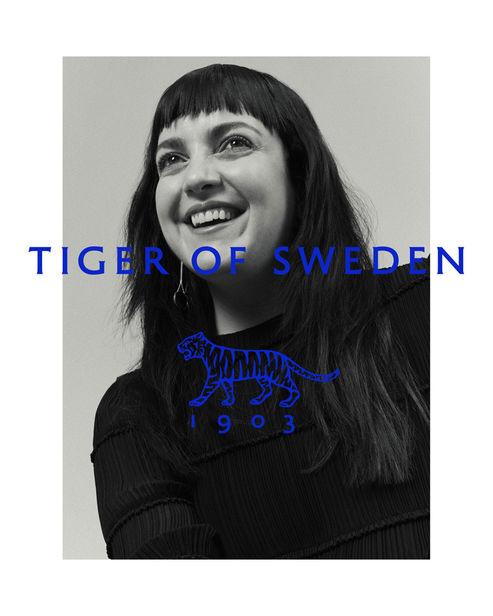 KLAUS STIEGEMEYER: Jana Gerberding for Tiger of Sweden