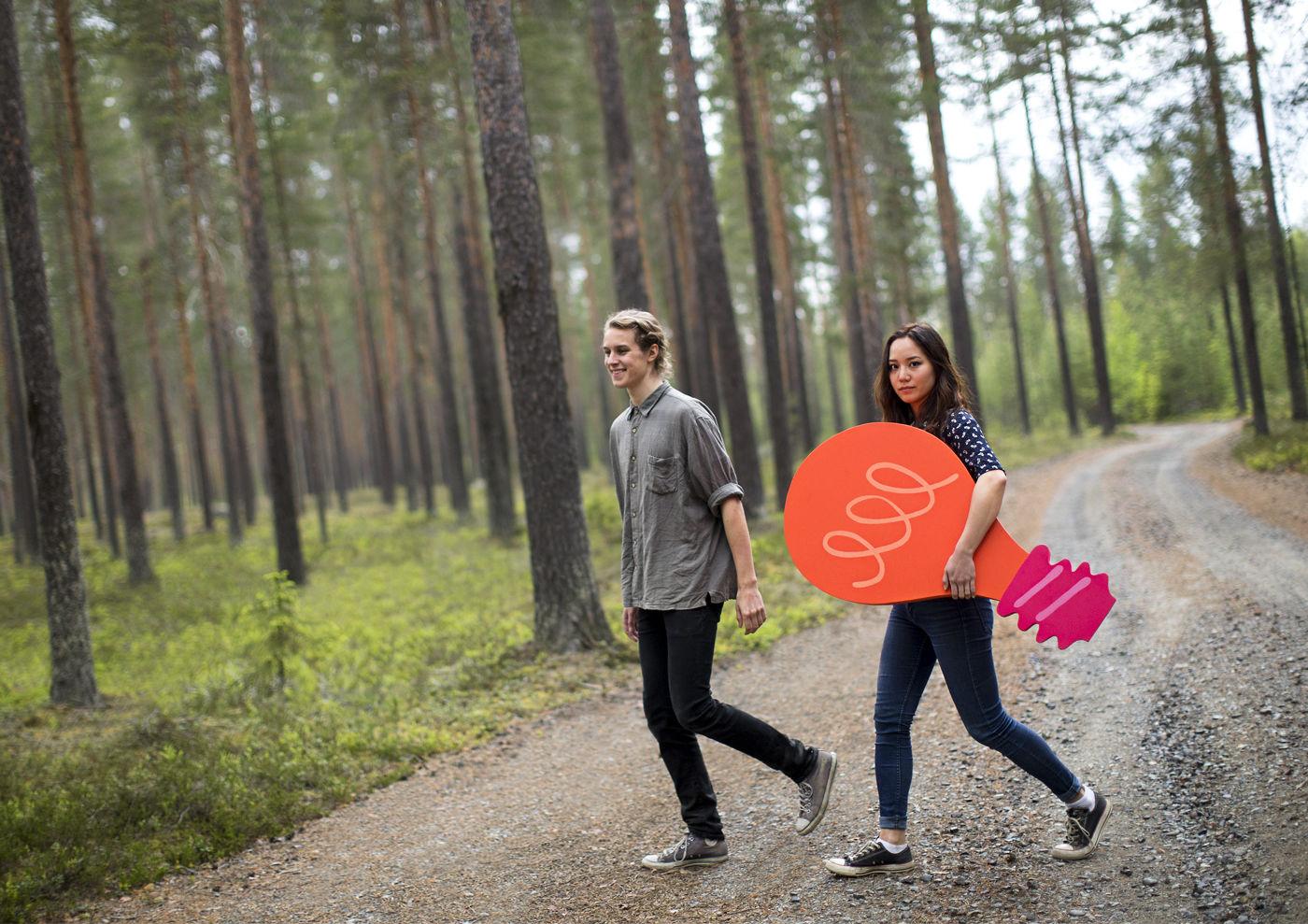 AGENT MOLLY & CO: Andreas Samuelsson for Skellefteå Kraft