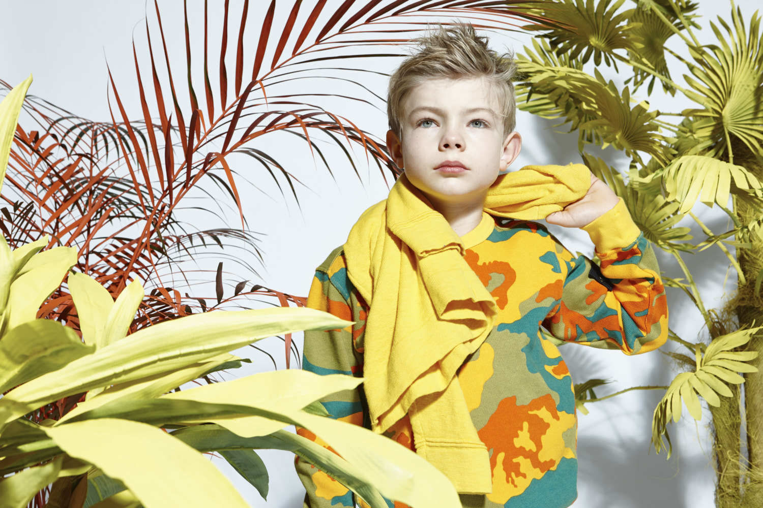Jungle Fever for Marie Claire Enfants Italia by Achim Lippoth