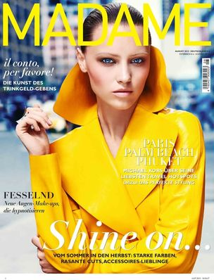MD MANAGEMENT : Mila Krasnoiarova FOR MADAME