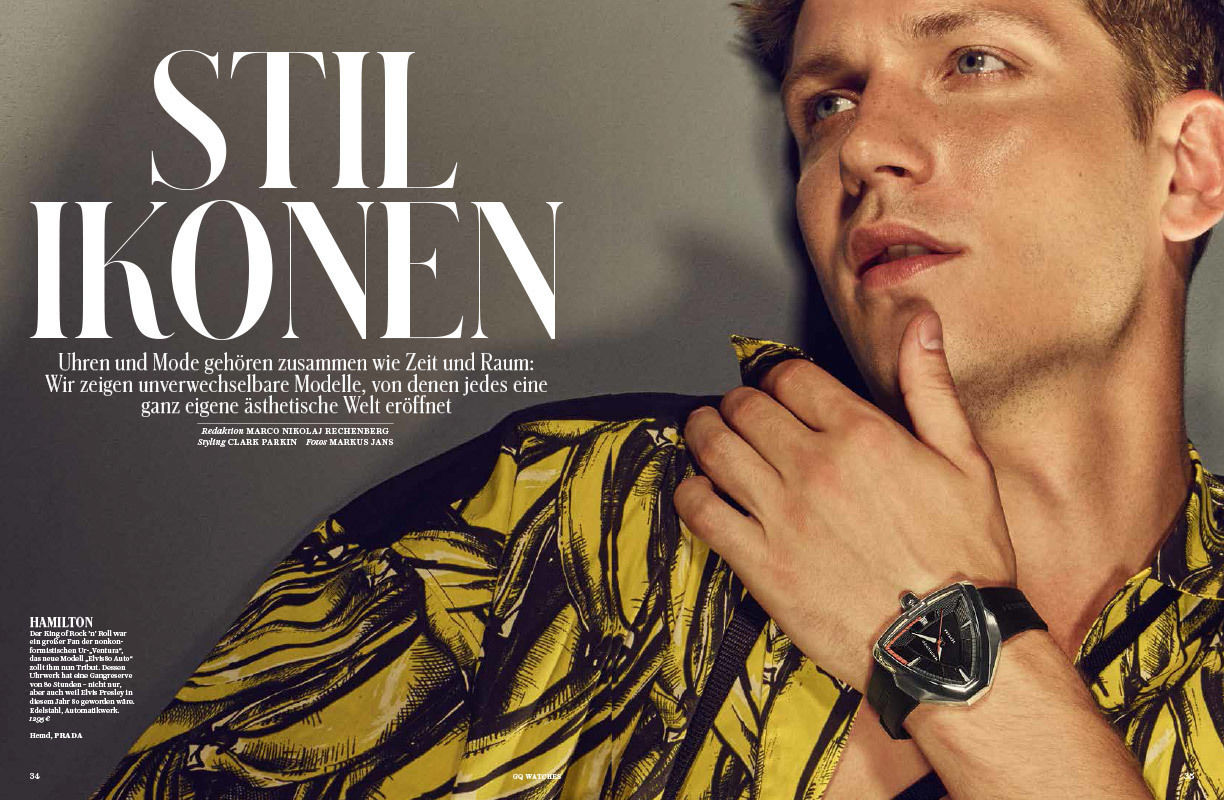 BIGOUDI: Michael Salmen für GQ Watches