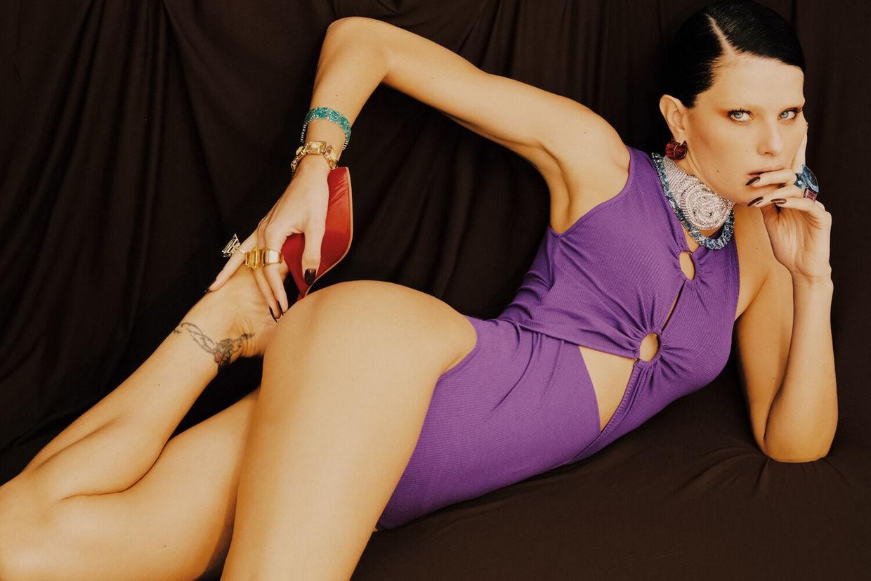 Isabeli Fontana c/o ICONIC for HARPER'S BAZAAR BRASIL
