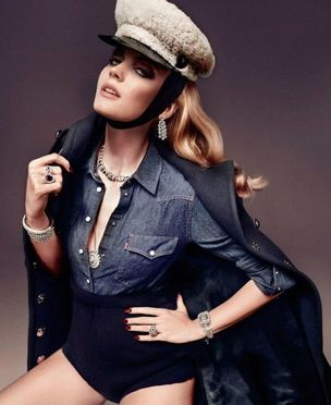 MUNICH MODELS : Charlotte Di CALYPSO for VOGUE SPAIN