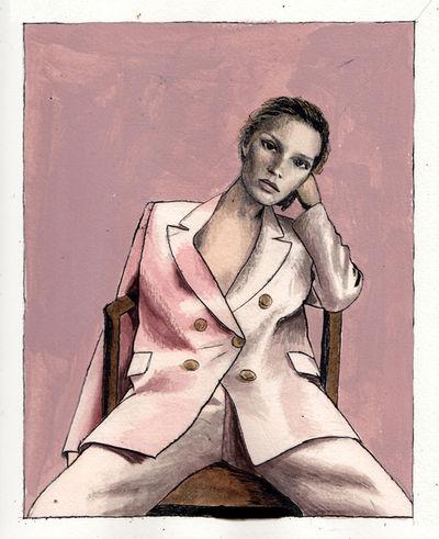 2AGENTEN: Andrea Ventura for Vogue Italia