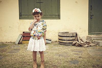 Karina Bednorz: Beatrice Heydiri for Collezioni